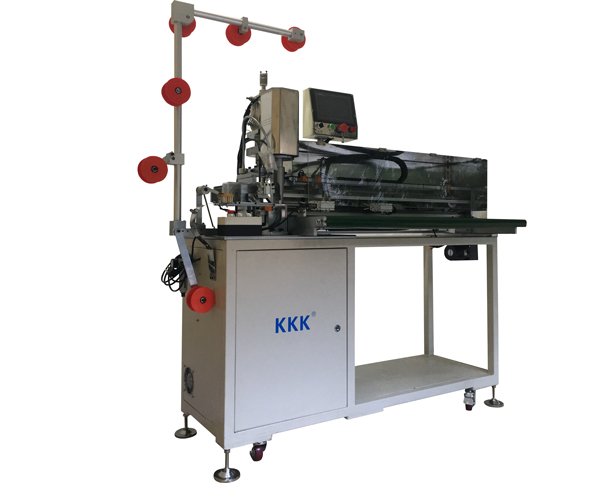 KKK-116-DOUBIE Full-auto robot arm ultrasonic open-end cut machine