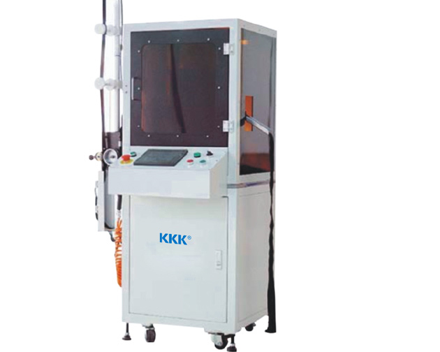 KKK-158N Auto nylon wire bottom stop welding machine by computer
